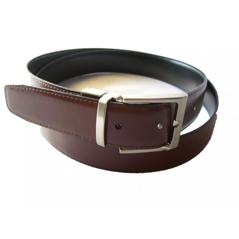 nuevo estilo 59c02 3cf56 cinturon de piel reversible
