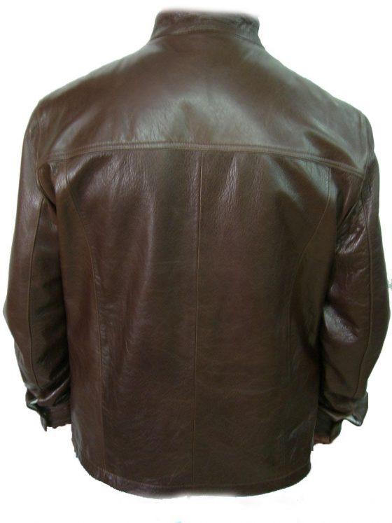 chaqueta de caballero marron oscuro