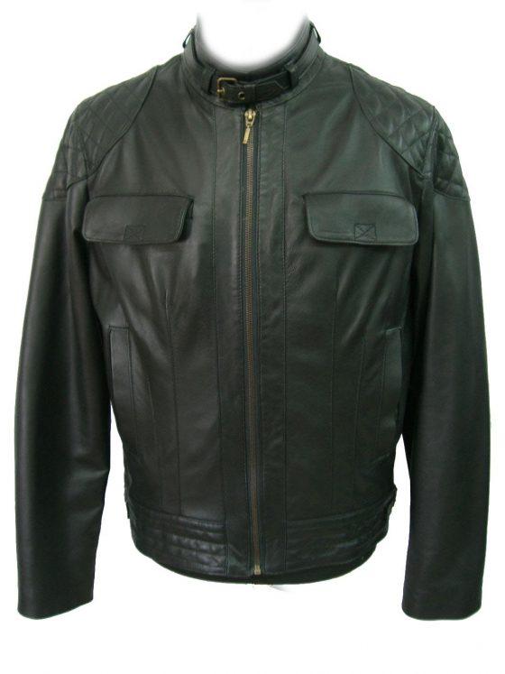 chaqueta de caballero negra